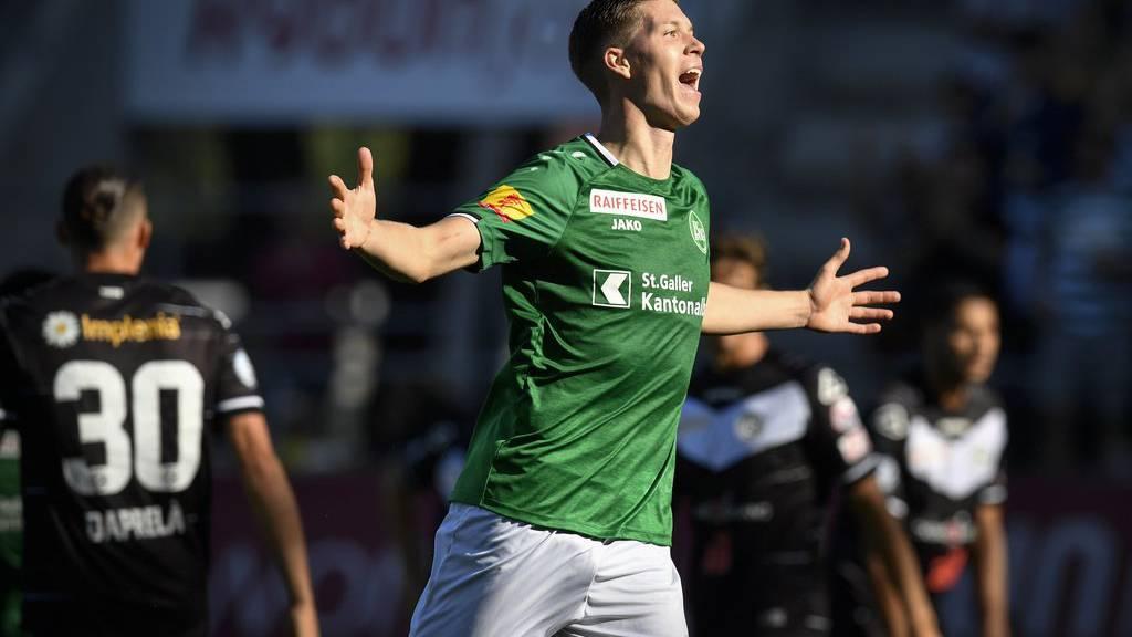 Der FC St.Gallen gewinnt 3:2