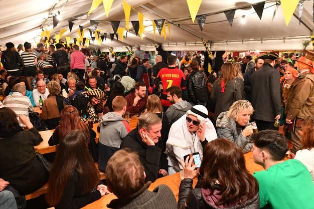 Impressionen von der Oltner Strassenfasnacht 2020 am Samstagabend in der Innen- und Altstadt