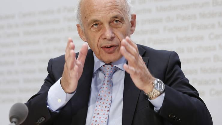 Optimistischer Finanzminister: Ueli Maurer glaubt an eine Erholung der Schweizer Wirtschaft nach der Corona-Krise.
