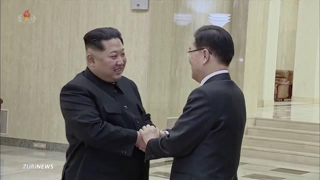 Gipfeltreffen zwischen Trump und Jong-un in der Schweiz?