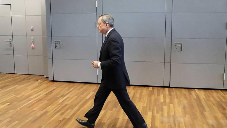 Mario Draghi hat in etwa die Markterwartungen getroffen.