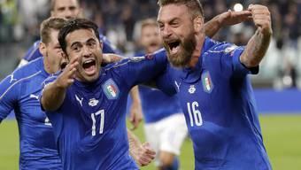 WM-Qualifikationsspiel Italien - Spanien