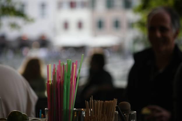Feierabendstimmung in der Hafebar (Foto: Andreas Kaufmann)