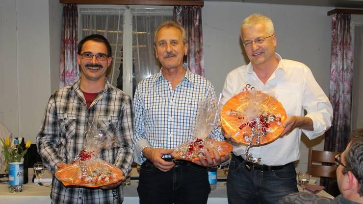 Roli Bieri (für Evelina), Jo Kaufmann, Walter Baumann