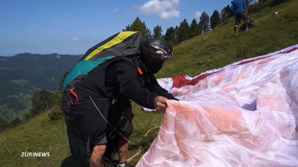 «Hike and Fly»: Trend erobert auch die Schweiz