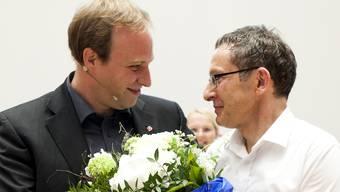Das falsche Geschlecht: Urs Hofmann und sein möglicher Nachfolger Marco Hardmeier.