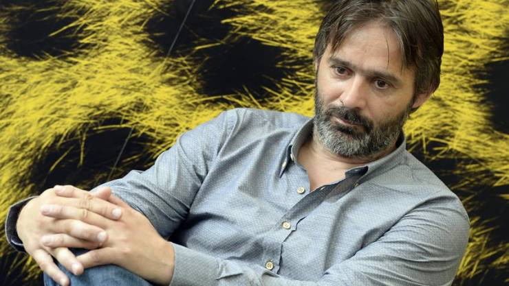 Sein Bergdrama startet im Herbst in den Schweizer Kinos: Baltasar Kormakur während seines Besuchs am Filmfestival in Locarno 2013 (Archiv)