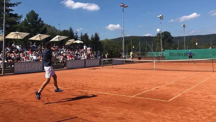Das Tennis Pro Open in Schlieren kann dem Spitzennachwuchs in den Profisport verhelfen.