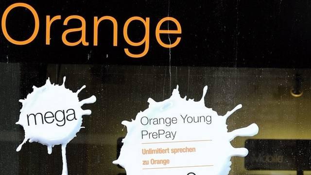 Schaufenster einer Orange-Filiale in Zürich (Archiv)
