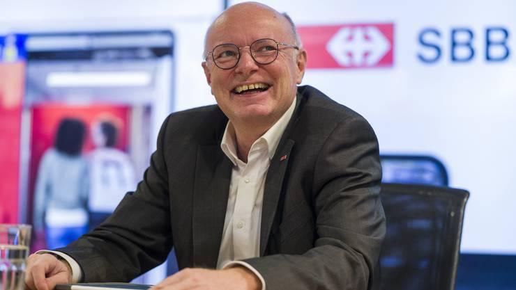 Der neue SBB-Chef Vincent Ducrot (57).