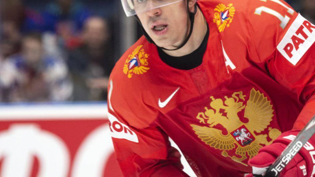 Russland (im Bild Jewgeni Malkin) baut in St. Petersburg für seine nächste WM das grösste Eishockey-Stadion der Welt