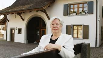 Erste Frau auf dem Präsidentenstuhl: Emmy Honegger.