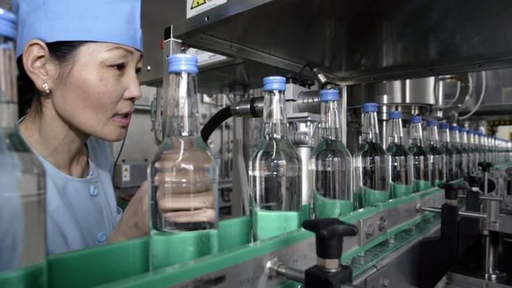 Das Verdünnen wurde vergessen: In Kanada ist Wodka mit 81 Prozent Volumenprozent in die Läden gelangt. (Symbolbild)