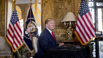 Knapp 103 Millionen Dollar befinden sich in Donald Trumps Wahlkampfkasse.
