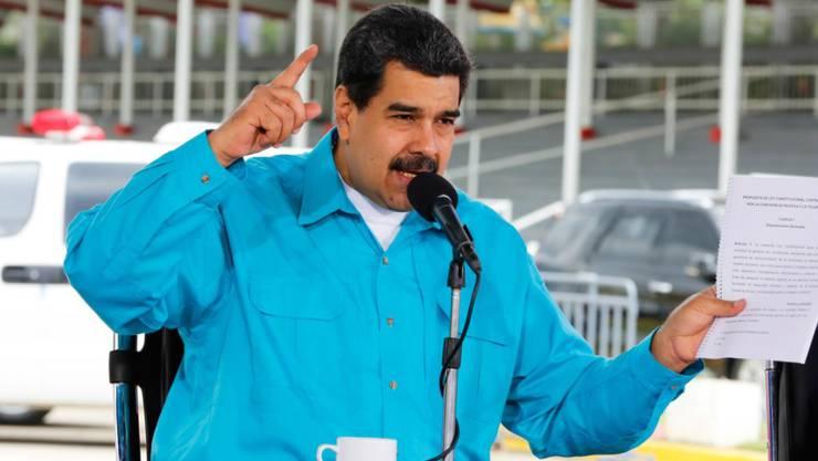 Der venezolanische Präsident Nicolás Maduro beabsichtigt eine Neuordnung der Schulden des Landes.