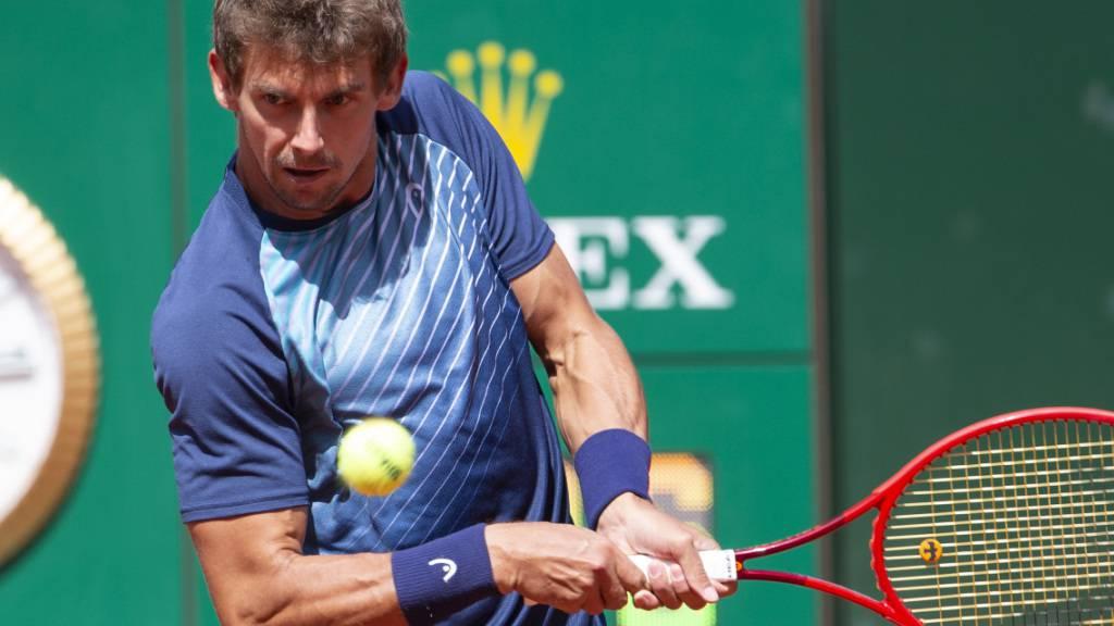 Nahe dran, aber am Ende doch der Verlierer: Henri Laaksonen am Geneva Open