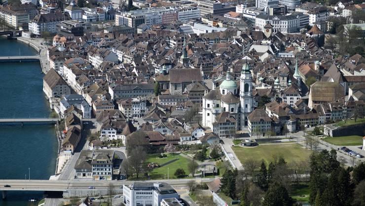 Wer bei der Ortsplanungsrevision der Stadt Solothurn mitreden möchte, kann dies auch online.