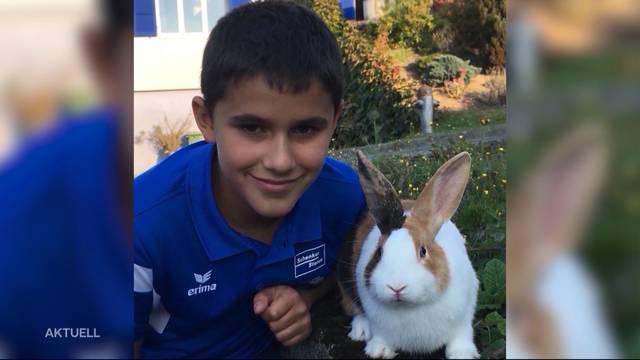 Totgebissene Kaninchen: Grosse Anteilnahme für Manuel Lüthi
