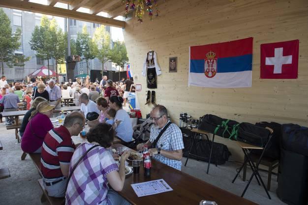 Serbischer Folkloreverein