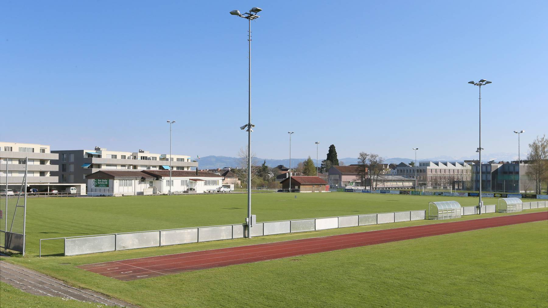 Der Juniorenfussball-Match auf der Sportanlage Weitenzelg in Romanshorn endete mit einer Schlägerei – ein Spieler wurde verletzt ins Spital gebracht.