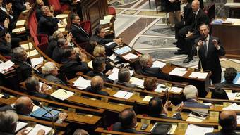 Blick ins französische Parlament