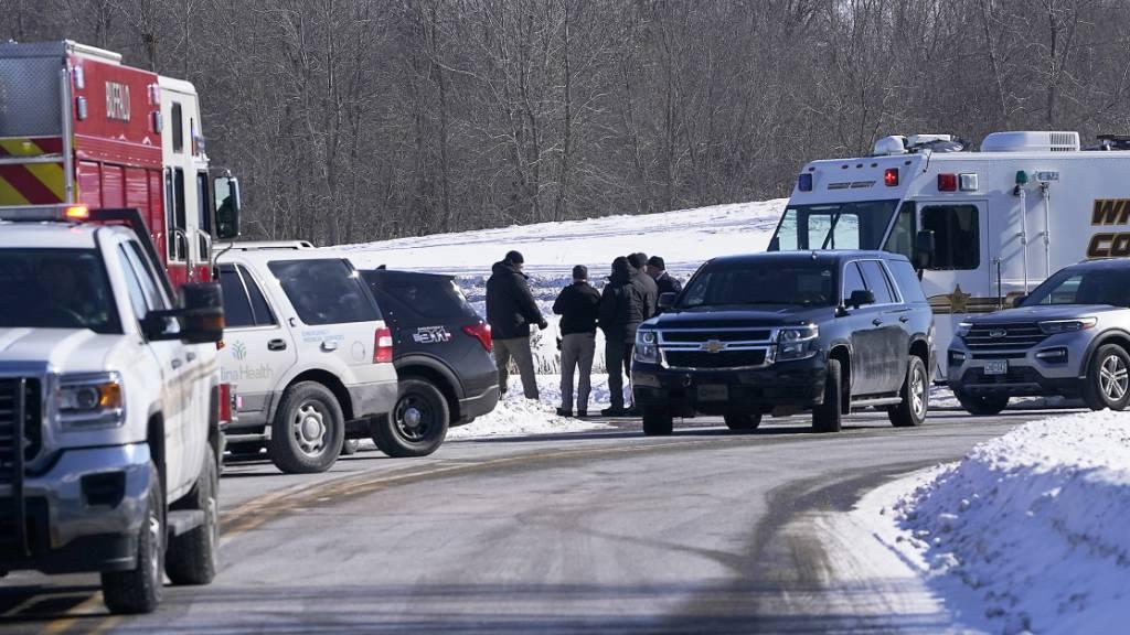 Schütze in Spital tötet einen Menschen und verletzt vier