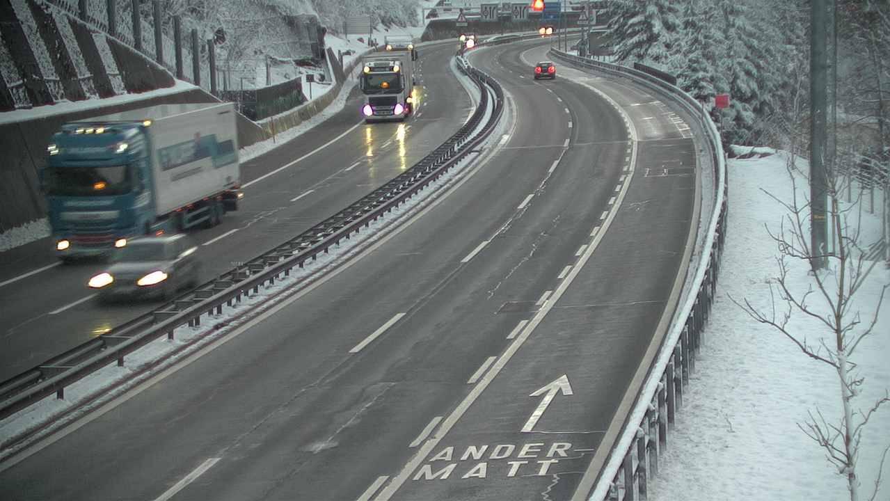 A2 zwischen Amsteg und Göschenen wird saniert