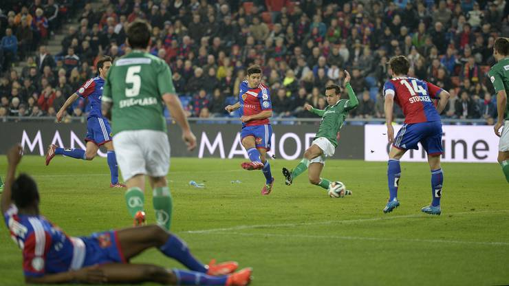 Davide Calla konnte den FCB 1:0 in Führung bringen