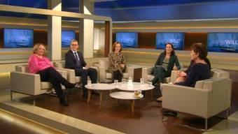 «Recht auf Leben und Selbstbestimmung» zu diesem Thema diskutierte Anne Will mit fünf Gästen.