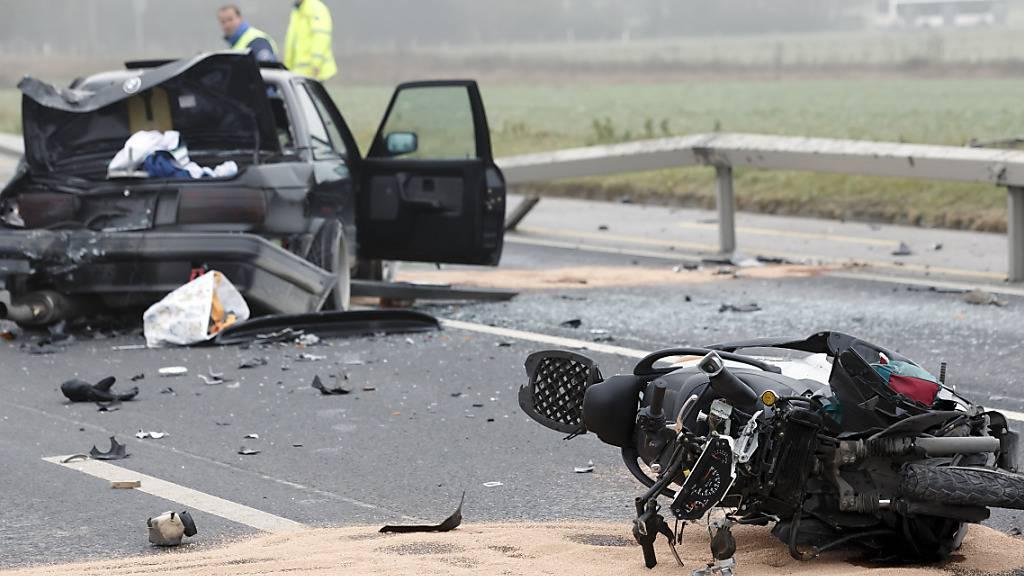 Weniger Unfälle im Strassenverkehr - Art der Unfälle altersabhängig