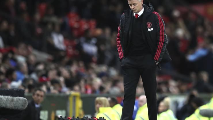 Ole Gunnar Solskjaer verpasste mit Manchester United die Champions League