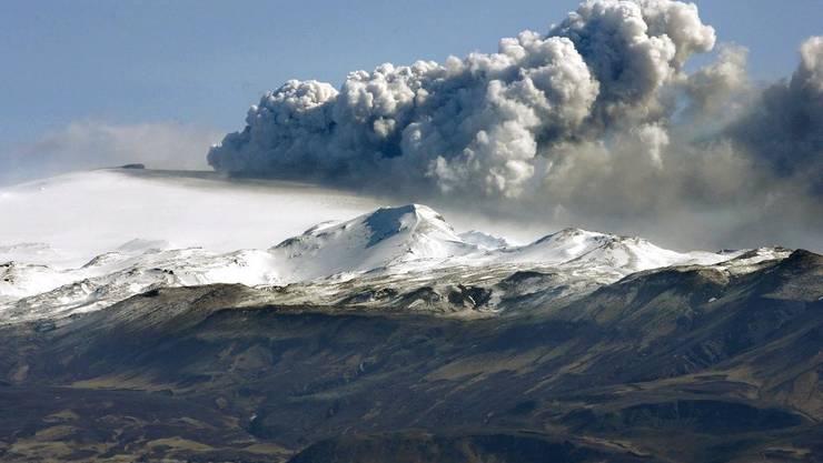 Von Island ins Freiamt: Der Ausbruch des Eyjafjallajökull hat auch auf Freiämter Auswirkungen.