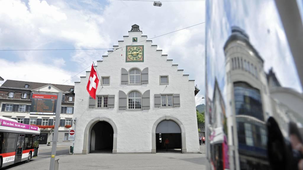 Das Waaghaus in St.Gallen, der Sitz des St.Galler Stadtparlaments.