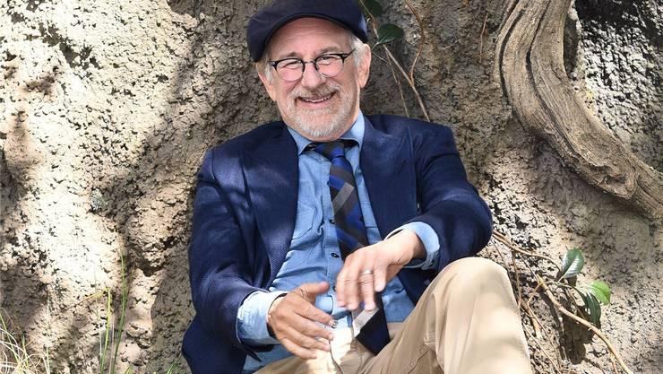 Steven Spielberg: Der Grandseigneur des modernen Unterhaltungskinos mag es leger.