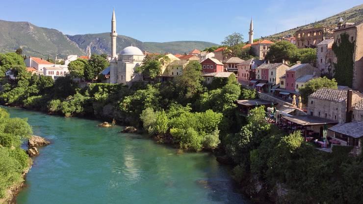 Mostar an der Neretva, Bosnien