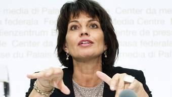 Umweltministerin Doris Leuthard wird an den Klimagipfel in New York reisen.