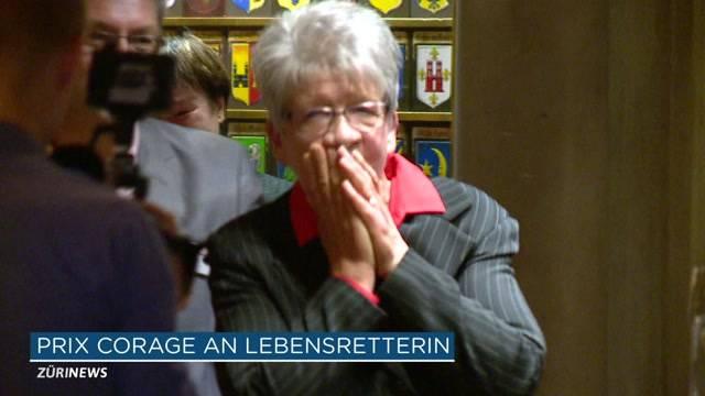 Erna Niedermann gewinnt Prix Courage