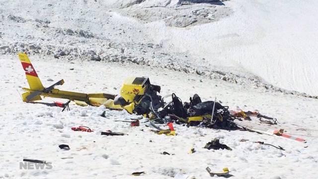 Helikopter-Absturz auf Guggigletscher geklärt