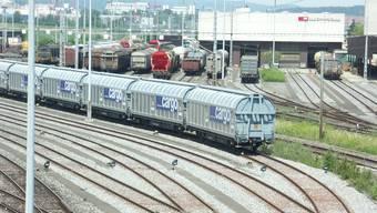 Als Standort für den Gateway Limmattal: Der Rangierbahnhof Dietikon.