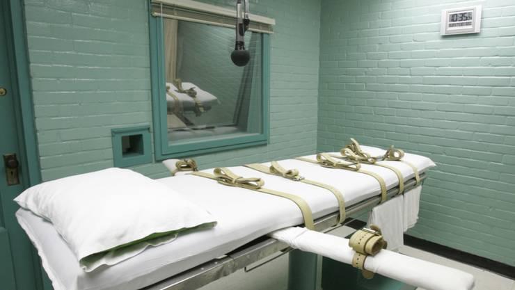 In den USA ist am Mittwoch erneut ein Mensch hingerichtet worden. (Archivbild)