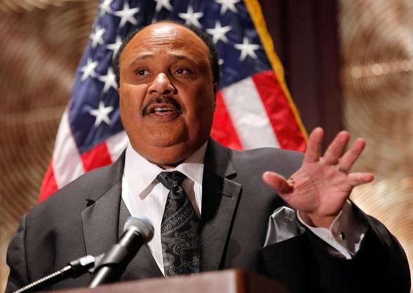 Menschenrechtler Martin Luther King III kritisiert Donald Trump: «Das Klima wurde durch unseren Präsidenten angeheizt.»