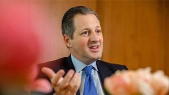 Schillernd, umtriebig, umstritten: Der 43-jährige Boris Collardi ist seit 2009 Chef der Zürcher Privatbank Julius Bär.