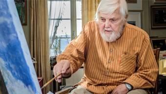 Kurt Hedigers (85) Heim wurde beschädigt.