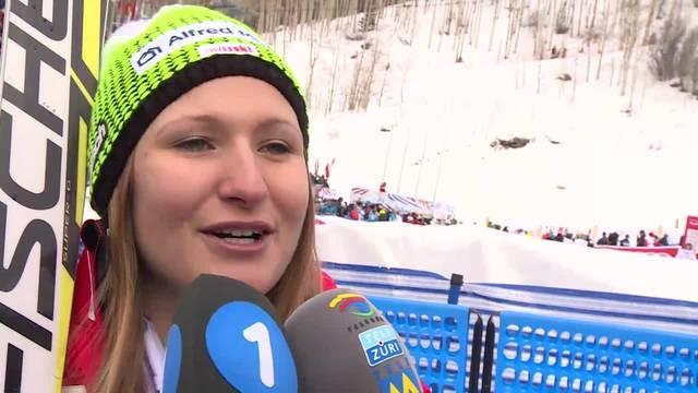 Priska Nufer zu Ski-WM: «Stimmung ist Hammer!»