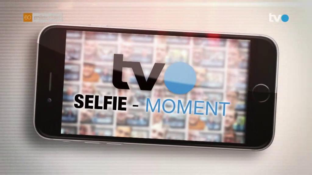 Selfie-Moment