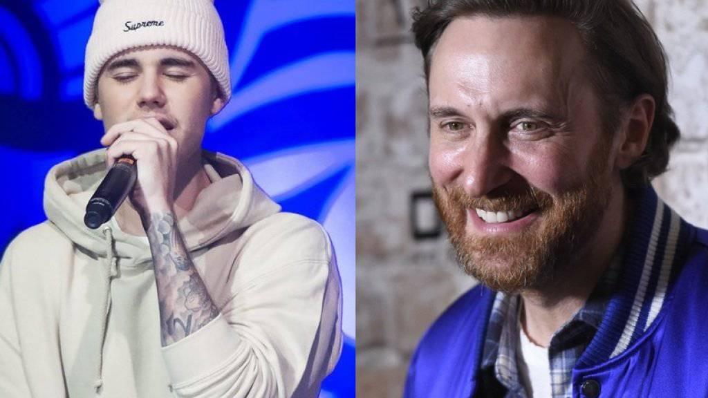 David Guetta macht's mit Justin Bieber