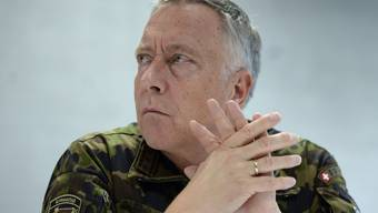 Armeechef André Blattmann.