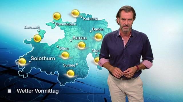 Und so gehts weiter: Die Wetterprognosen fürs Mittelland vom Donnerstagabend, 25.8.2016.