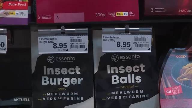Lust auf einen Insekten-Snack?