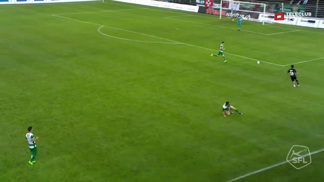 Challenge League 19/20 Runde 2: FC Aarau - SC Kriens 27.7.19 - 1:0 FC Aarau Petar Misic